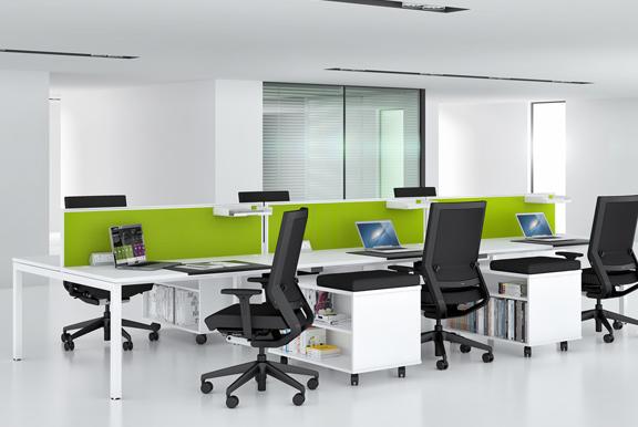 elite desks double bench
