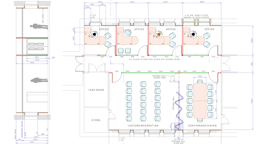 Cad drawing two
